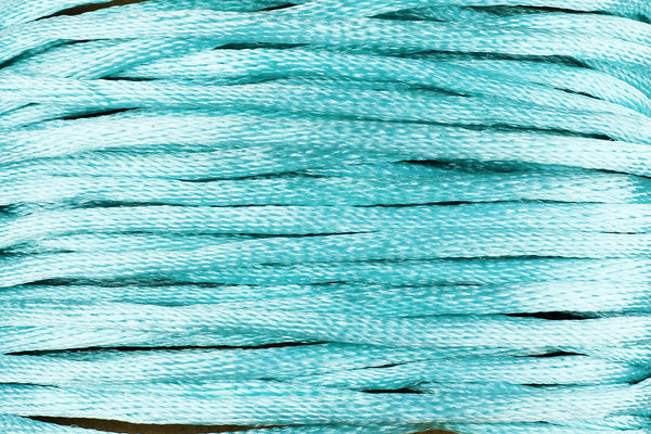 Silk Nylon Cord for Jewellery Making in Turquoise