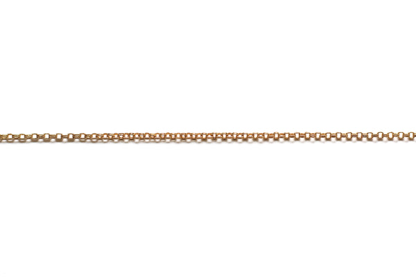 Double Round Link Chain - Gold (Tarnish Resistant)