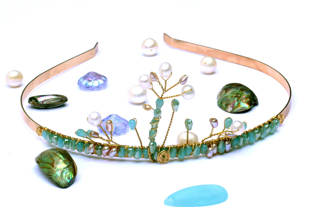 Wirework Mermaid Crown Jewellery Making Class Saturday 29th June -  10am - 11am