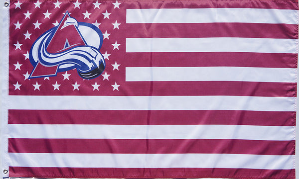 Colorado Avalanche Flag-3x5 Banner-100% polyester - flagsshop