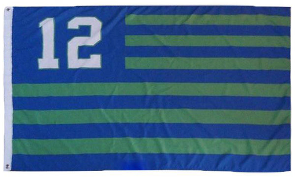 Seattle Seahawks Flag-3x5 NFL Banner-100% polyester- Free shipping for USA address