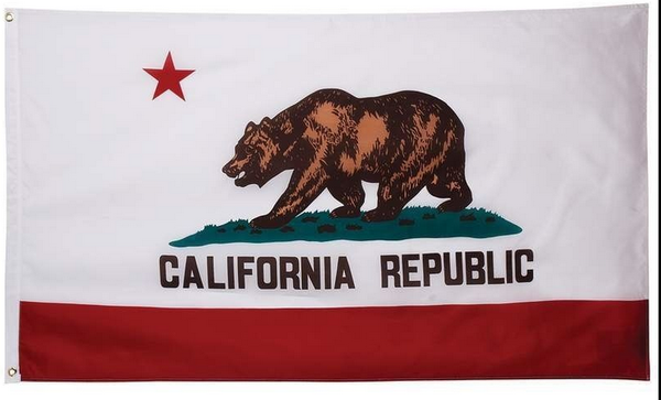 New California Republic Flag-3x5 Banner-100% polyester - flagsshop