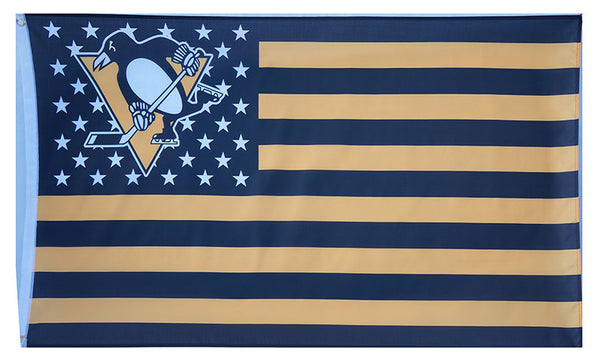 Pittsburgh Penguins Flag-3x5 Banner-100% polyester - flagsshop