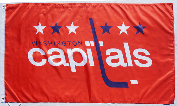 Washington Capitals Flag-3x5 Banner-100% polyester - flagsshop