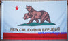 New California Republic Flag-3x5 Banner-100% polyester