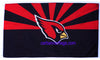 Arizona Cardinals Flag-3x5 NFL Arizona Cardinals Flag Banner-100% polyester-Camouflage-Gloves-Shine-Stripes