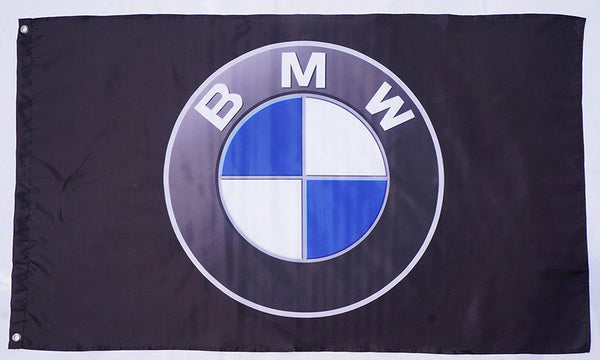 BMW flag-3x5 FT-100% polyester-Checkered Banner-mini - flagsshop