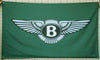 Bentley flag-3x5 FT-100% polyester Banner-2 Metal Grommet