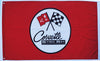 Chevrolet Corvette Flag-3x5 Checkered Banner-Metal Grommets - flagsshop