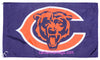 Chicago Bears Flag-3x5 NFL Banner-100% polyester-super bowl