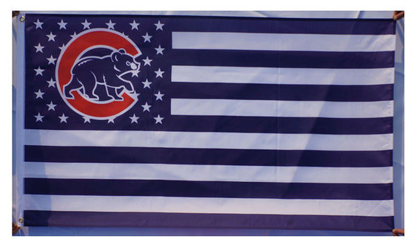 Chicago Cubs Flag-3x5 Banner-100% polyester - flagsshop
