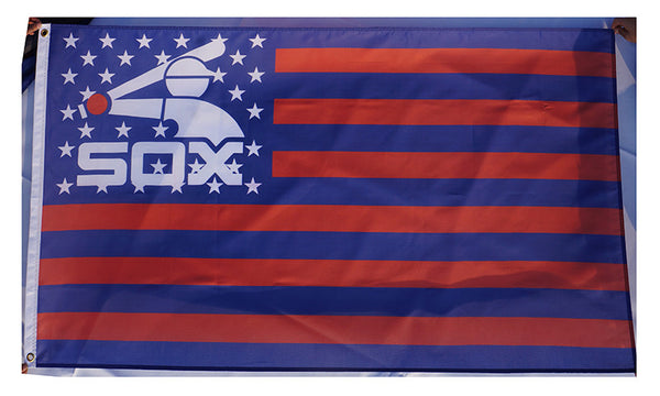 Chicago White Sox Flag-3x5 Banner-100% polyester - flagsshop