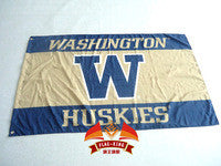 College University of Washington Huskies Flag UW Large 3FTX 5FT Size - flagsshop