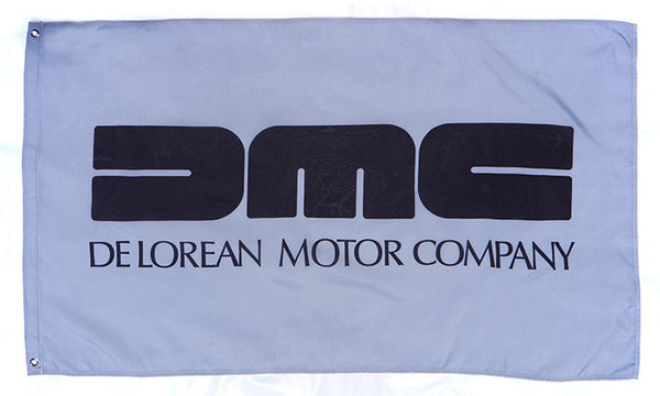 DMC Flag for Delorean Motor-3x5 FT-100% polyester Banner - flagsshop
