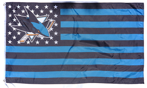 San Jose Sharks Flag-3x5 Banner-100% polyester - flagsshop