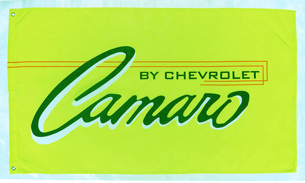 Chevrolet Camaro flag for car racing-3x5 FT-Checkered Banner-Red-Green-Black-White - flagsshop
