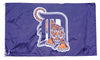 Detroit Tigers Flag-3x5 Banner-100% polyester - flagsshop