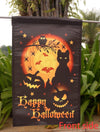 "Toland Home Garden ""Scary Halloween Halloween/Fall"" Decorative Garden Flag, ""12.5 x 18"" ""28 x 40"" Inches"