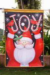 "Santa Claus holiday flag December Christmas ""12.5 x 18"" ""28 x 40."" - flagsshop"