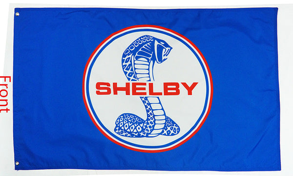Ford Shelby Cobra Flag-3x5 Banner-2 sided - flagsshop