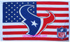 Houston Texans Flag-3x5 new NFL super bowl Banner-100% polyester-man cave-stripes-gloves-garden flags
