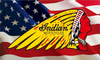 Indian motorcycles Flag-3x5 FT-100% polyester Banner-Red-Yellow