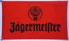 Jagermeister Flag-3x5 FT-100% polyester Banner-Red-White