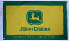 John deere flag-3x5 FT-100% polyester-Banner-one sided & 2 sided