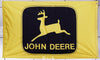 John Deere flag-3x5 FT-100% polyester-2 sided Banner - flagsshop