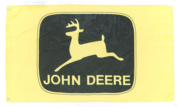 John deere flag-3x5 FT-100% polyester-Banner-one sided & 2 sided - flagsshop
