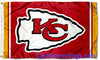 Kansas City Chiefs Flag-3x5 FT Banner-100% polyester-2 Metal Grommets-super bowl
