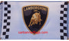 Lamborghini checkered Flag-3x5 Banner-100% polyester - flagsshop