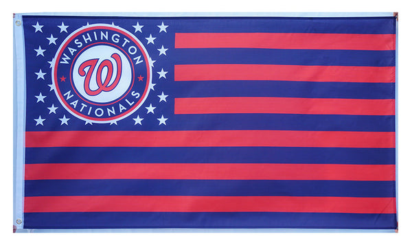 Washington Nationals Flag-3x5 Banner-100% polyester