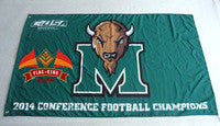Marshall 2014 Conference USA Champs Flag - flagsshop