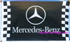 Mercedes benz Flag-3x5 Checkered AMG 3M Banner-100% polyester