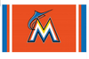 Miami Marlins  Flag-3x5 FT Banner-100% polyester-2 Metal Grommets - flagsshop