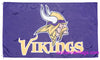 Minnesota Vikings Flag-3x5 NFL Minnesota Vikings Flag Banner-100% polyester-super bowl