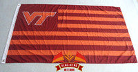 NCAA Virginia Tech Flag 3x5 FT 150X90CM Banner 100D Polyester flag - flagsshop