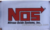 NOS Flag-3x5 Banner-100% polyester-White - flagsshop
