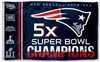 New England Patriots Flag-3x5 NFL Banner-100% polyester-super bowl