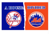 New York Mets Flag-3x5 Banner-100% polyester - flagsshop