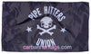 Pipe Hitters Union Flag-3x5 Banner-100% polyester-Black - flagsshop