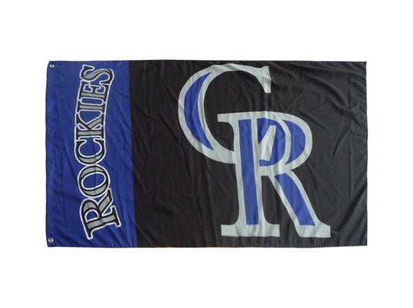 Colorado Rockies Flag-3x5 Banner-100% polyester - flagsshop