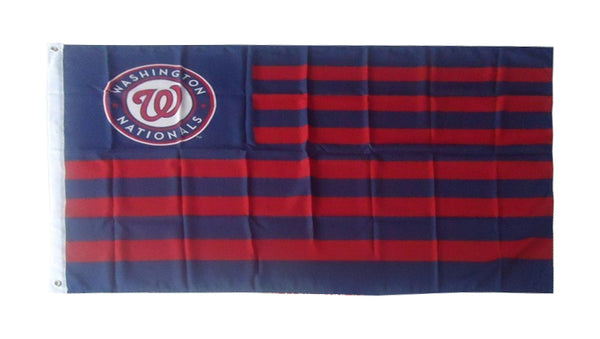 Washington Nationals Flag-3x5 Banner-100% polyester - flagsshop