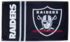 Oakland Raiders Flag-3x5 NFL Banner-100% polyester-black