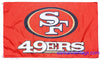 San Francisco 49ers Flag-3x5 NFL Banner-100% polyester- Free shipping for USA address
