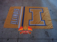 University of Illinois 90x150cm Flag 100% Polyester banner, College custom flag any size company advertisement flags,flag king - flagsshop