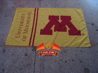 University of Minnesota Flag NCAA Big Ten Conference Flag NCAA Fan Flag 3ft x 5ft - flagsshop