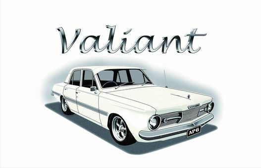Valiant Flag-3x5 Banner-100% polyester-with car logo - flagsshop
