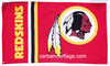 Washington Redskins Flag-3x5 NFL Banner-100% polyester-Free shipping for USA